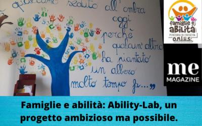 """Ability-Lab miglior progetto """"rivoluzionario"""""""